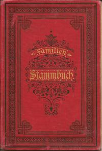Stammbuch Famile Hähnel